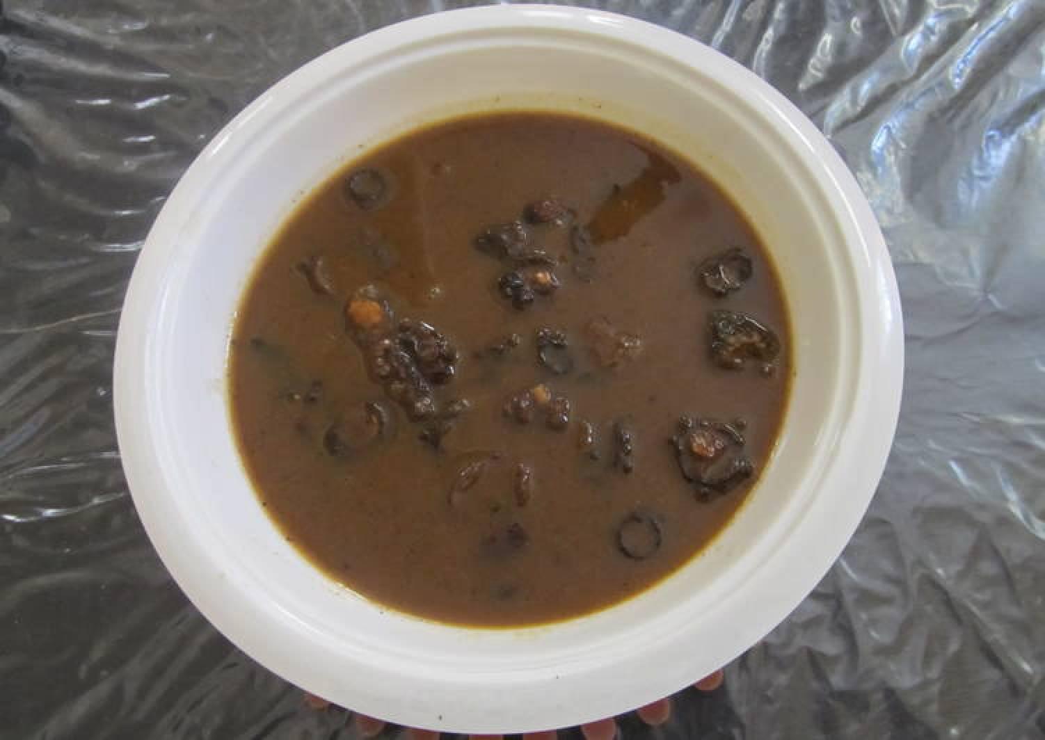 Vathakuzhambu/ Vathal kuzhambu (Dried Vegetables Curry)