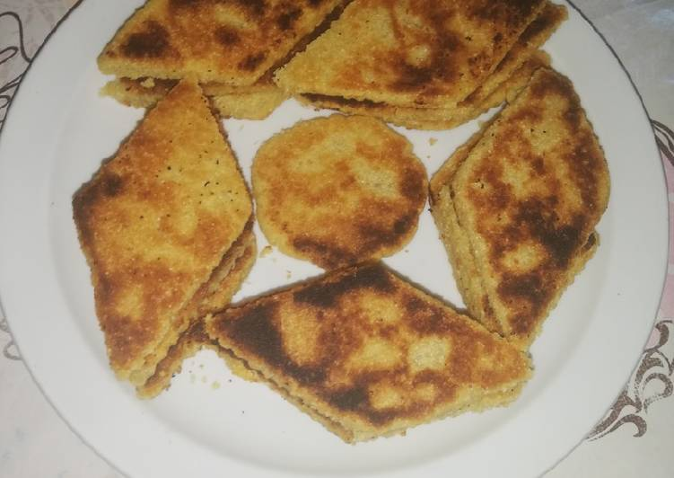 Maberja Algérienne (galette de Semoule)
