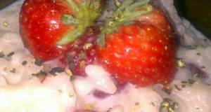 Sigs Strawberry Risotto