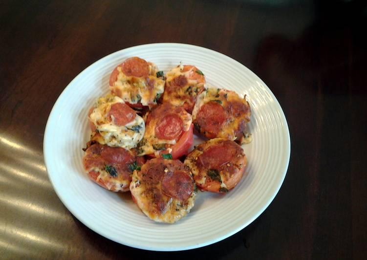 Pizza Baked Tomatos