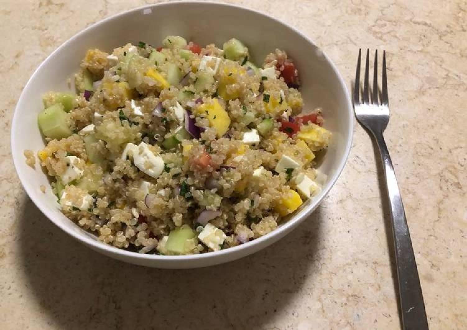 Quinoa, Mango & Mint Salad