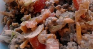 Quick  Easy Taco Dorito Salad