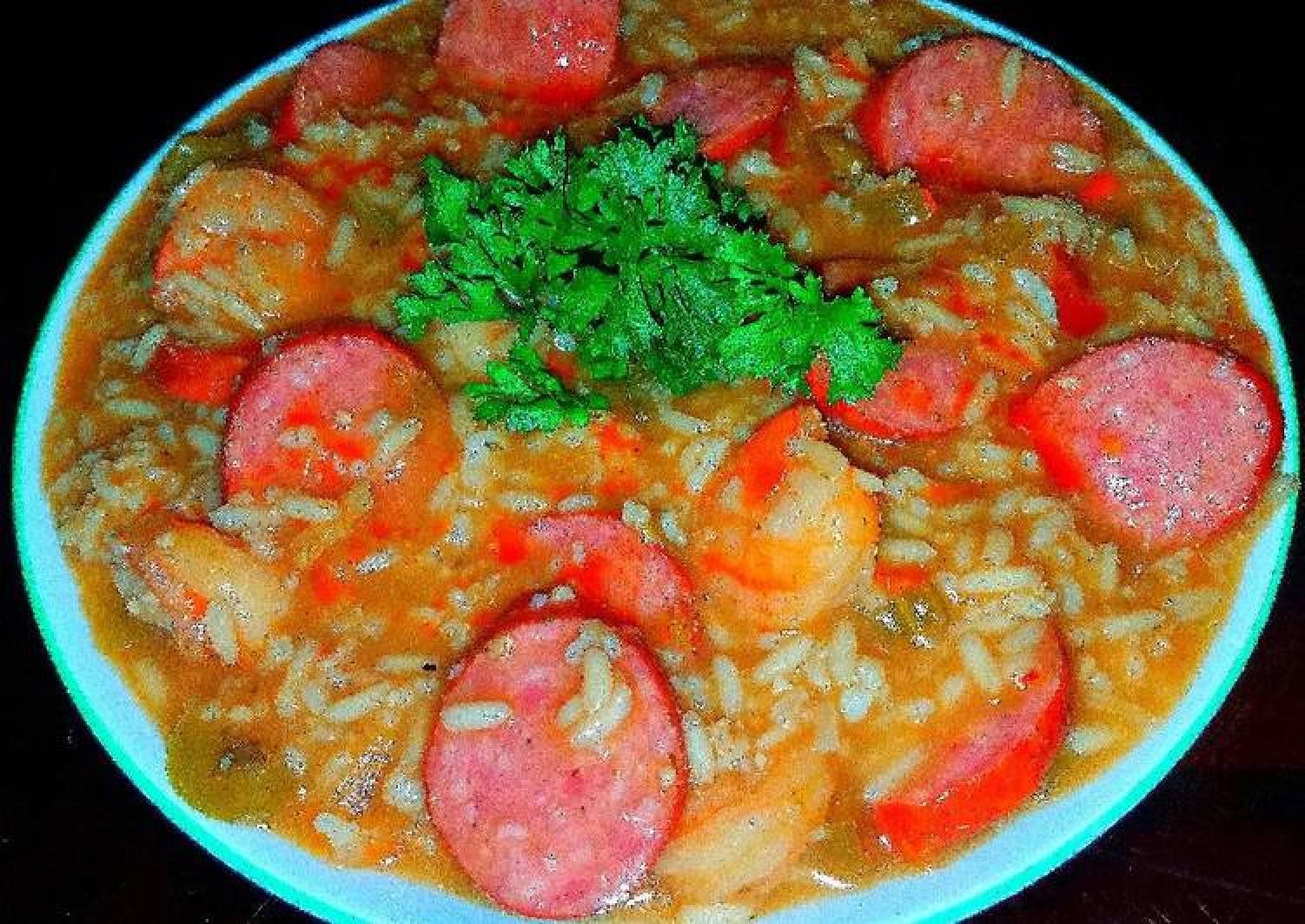 Mike's EZ Shrimp & Spicy Andouille Sausage Gumbo