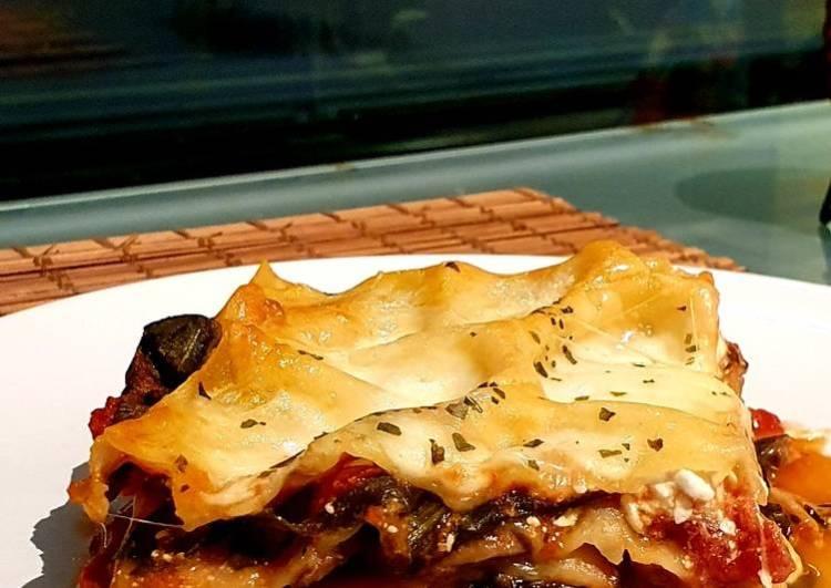 Veggie Lasagna 🍝 🌱