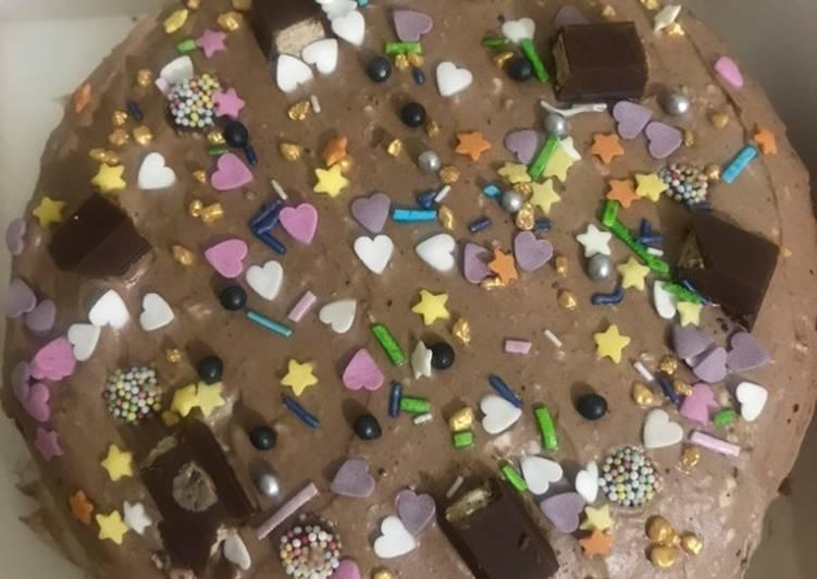 Kitkat chocolate 🍫 cake
