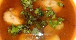 Chicken curry with potato and peaschicken Aalu Matar mycookbook