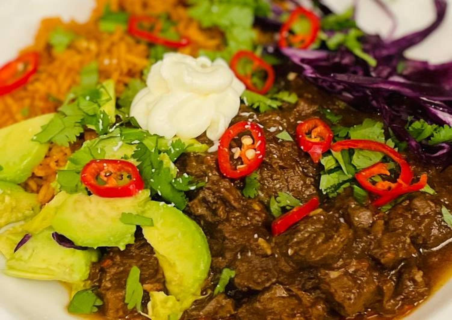 Mexican slow cooked beef