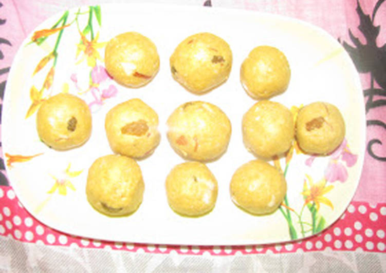 Besan Ke Laddu with Sugar FreeFor Dieting  diabetes