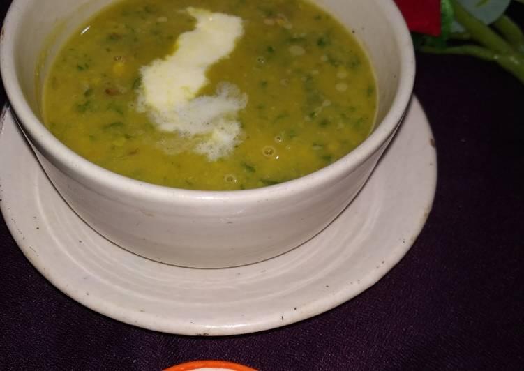 Vegetable Chana dal Soup