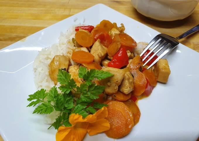 Rezept Um Gordon Ramsay Thai Curry mit Hähnchen zu machen