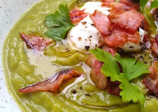 Broccoli & Asparagus Soup
