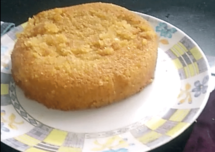 Recipe of Speedy Mango Rava Cake