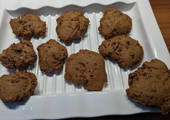 wie man Um Superschnelle Hausgemachte Vegane Schoko-Kekse zu machen