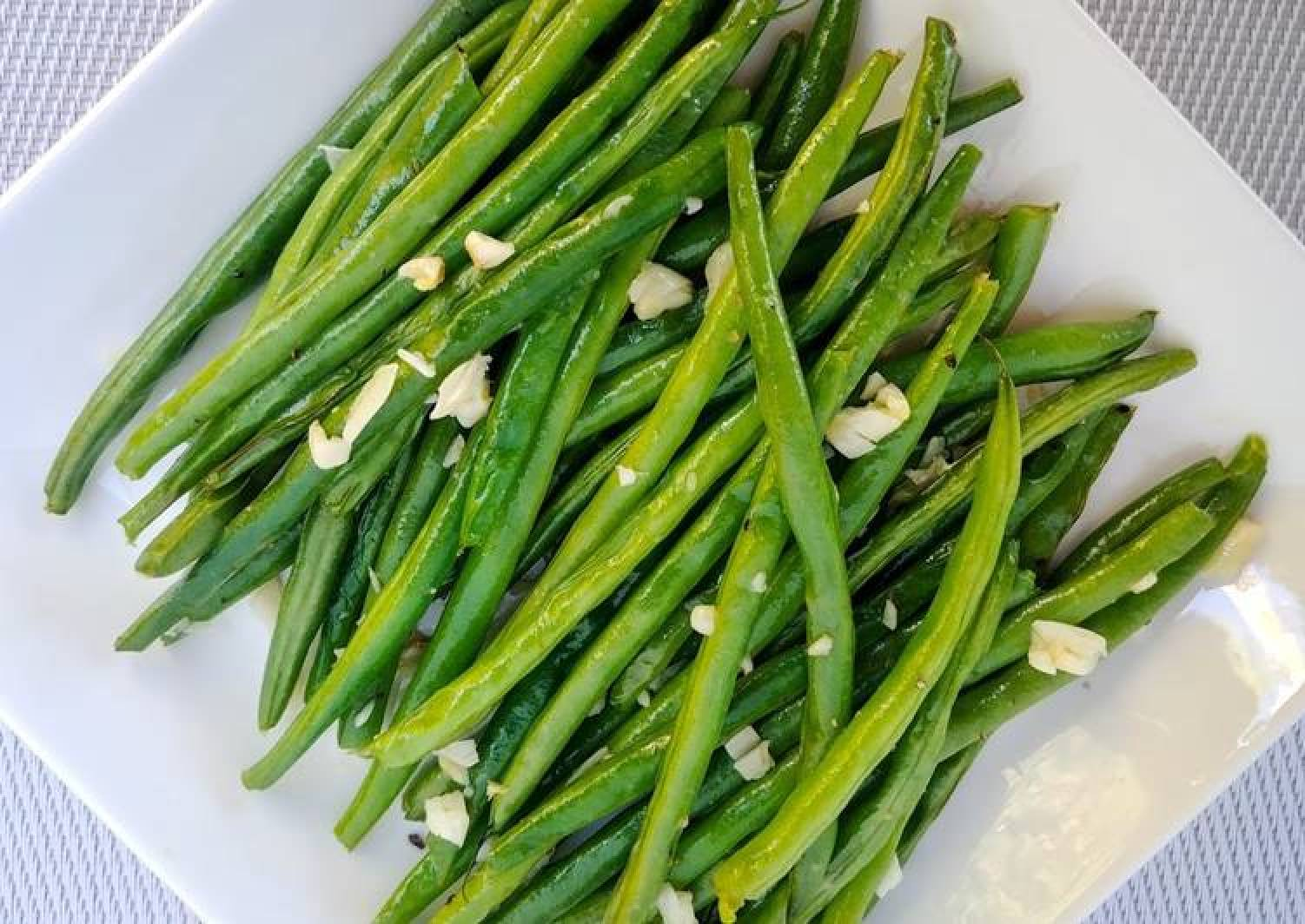 Buttered Garlic Green Beans