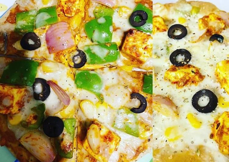 Wheat base pizza