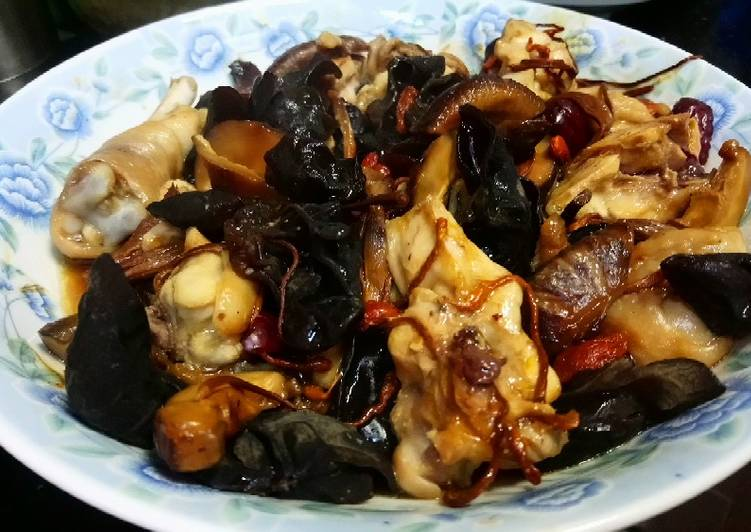 Chicken steam oyster sauce