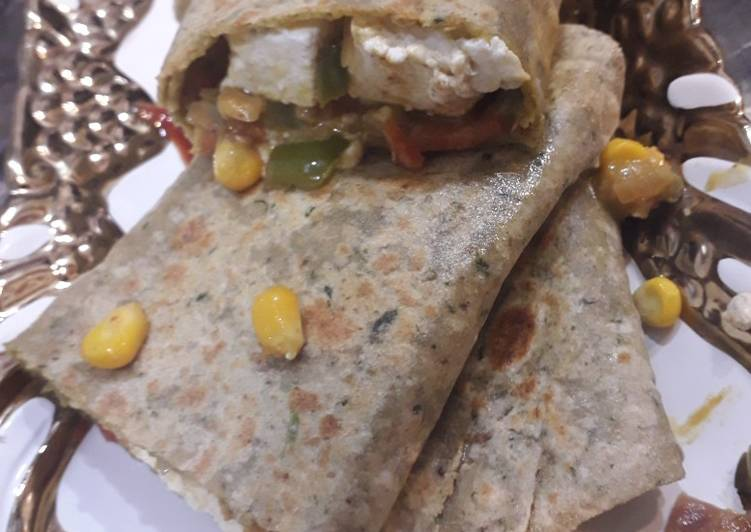 Recipe of Favorite Indian style burrito