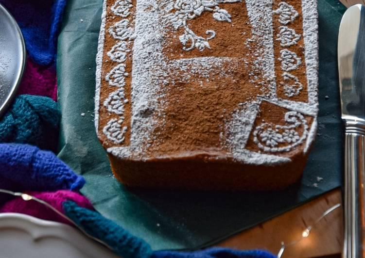 Gâteau à la cannelle et chicorée 🍰