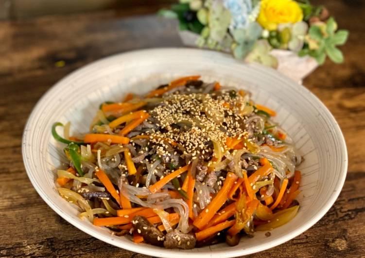 Korean Noodle Japchae