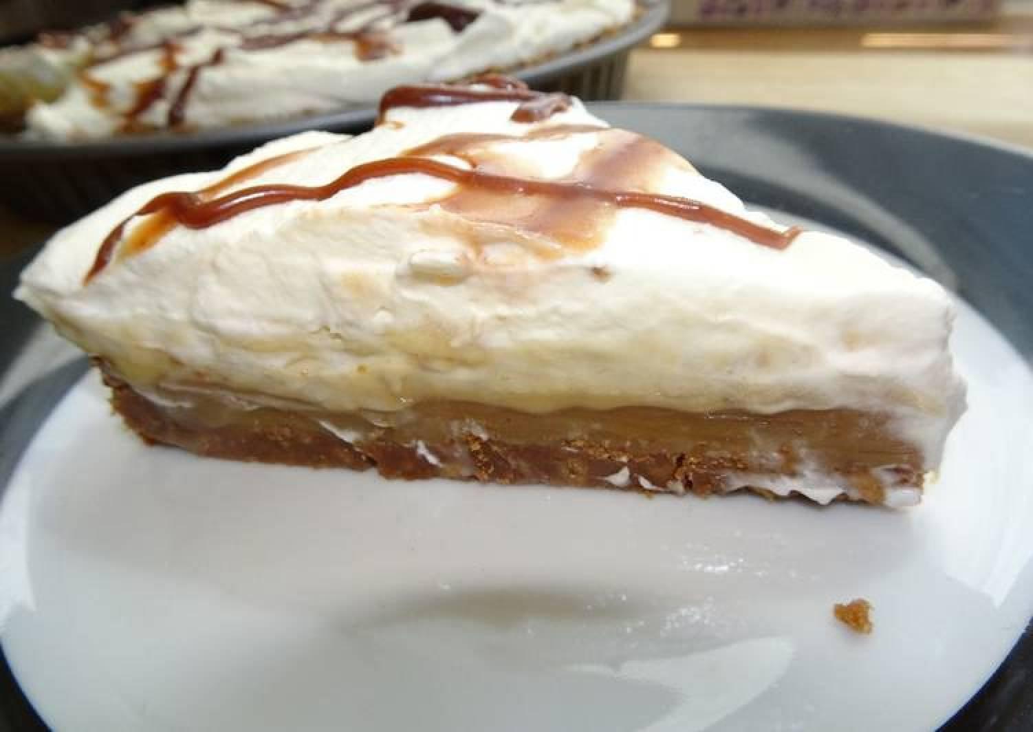 Banana Custard Banoffee Pie