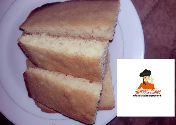 Steps to Prepare Speedy Basbousa cake/semolina cake