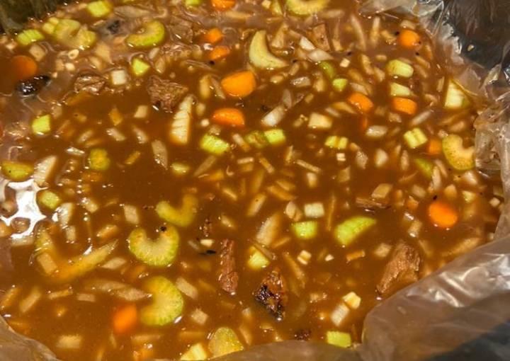 Best Beef& Barley soup ever