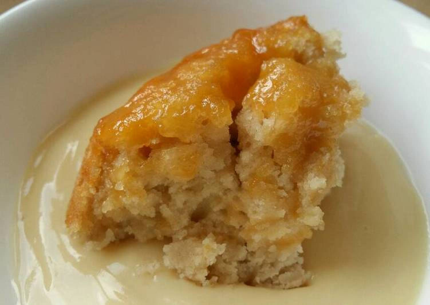 Vickys Steamed Syrup Suet Pudding, GF DF EF SF NF