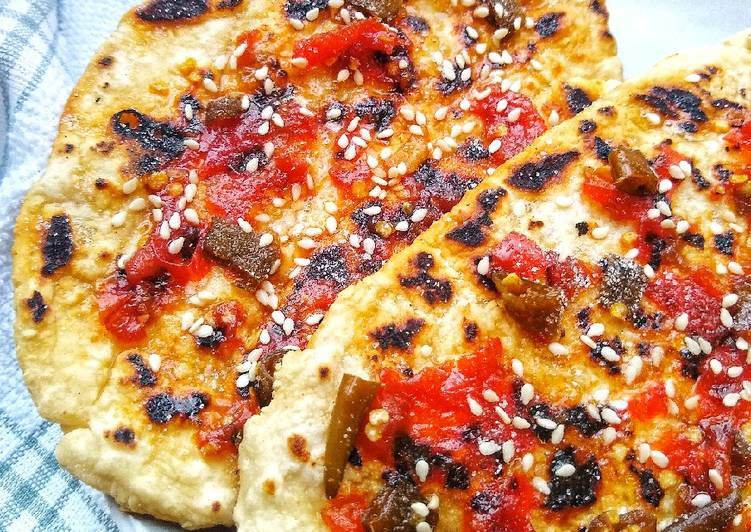 Hot & Sweet Chilli Sesame Flatbreads