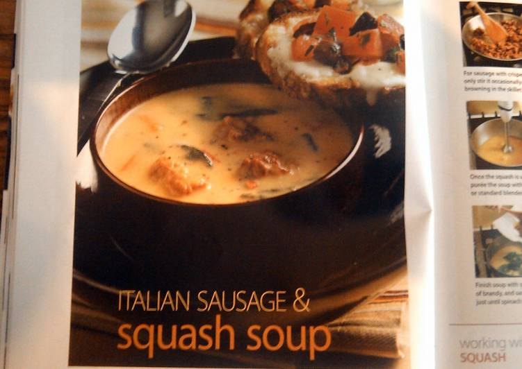 Itilian sausage & squash soup, Choosing Fast Food That's Good For You