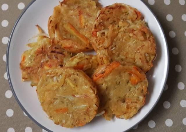 Bakwan sayur simpel tanpa telur