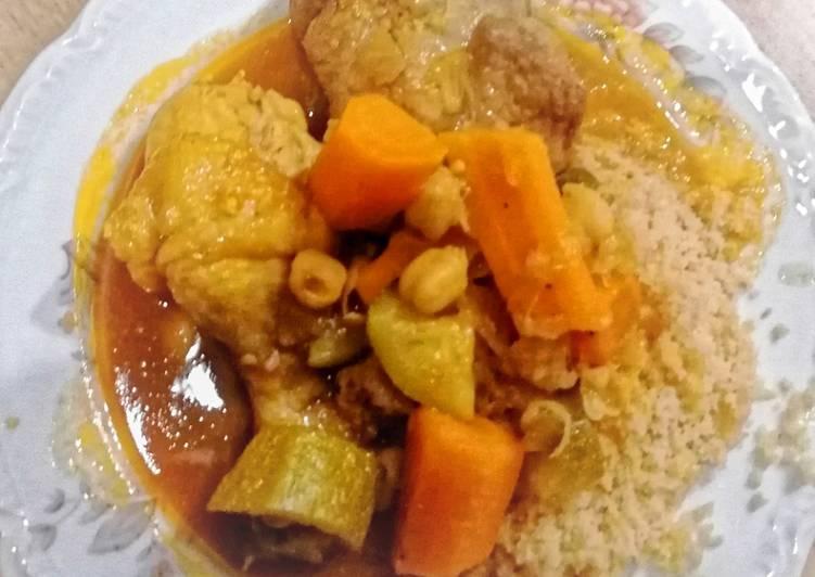 Couscous poulet/agneau au Cook Expert