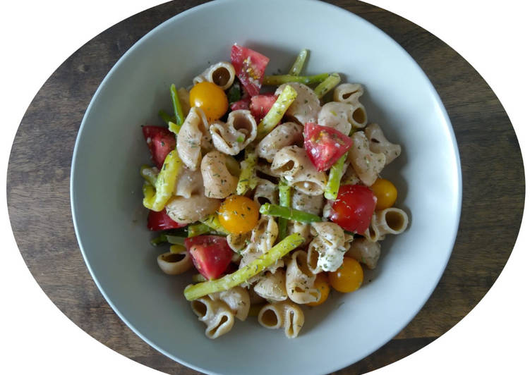One pot pasta haricots verts, tomates fraîches & feta - IG Bas