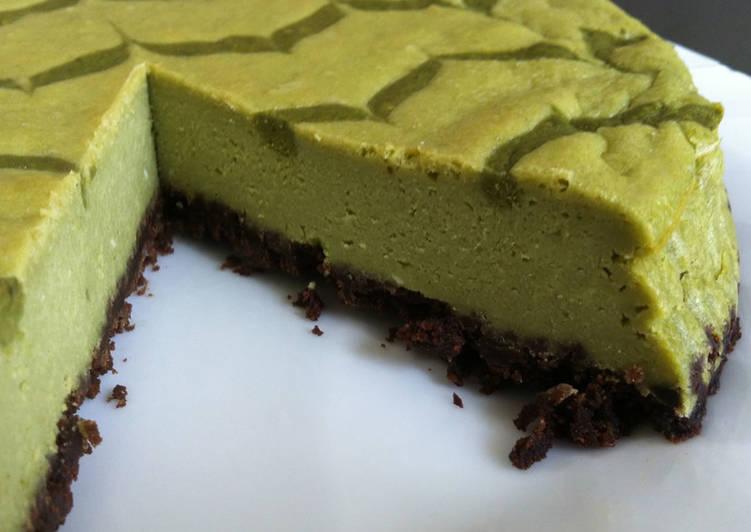 How to Make Ultimate Matcha Cheesecake
