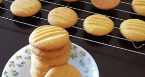 Vanilla Custard Powder Cookies