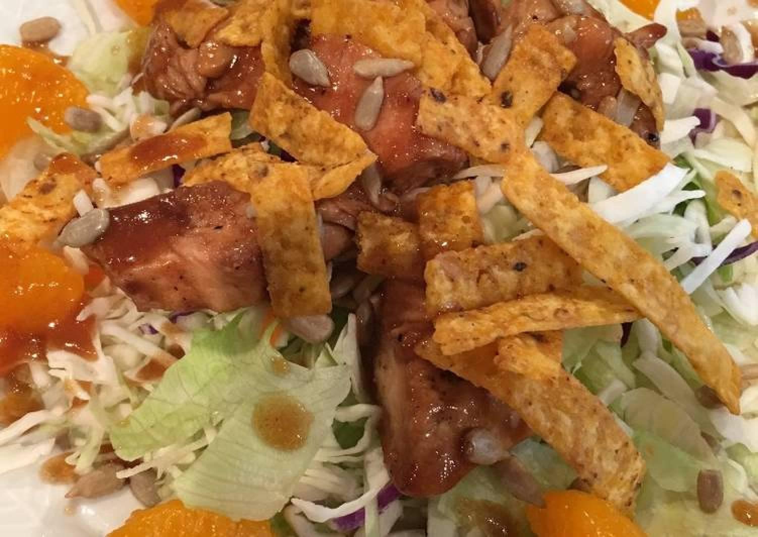 Teriyaki Chicken Asian Salad