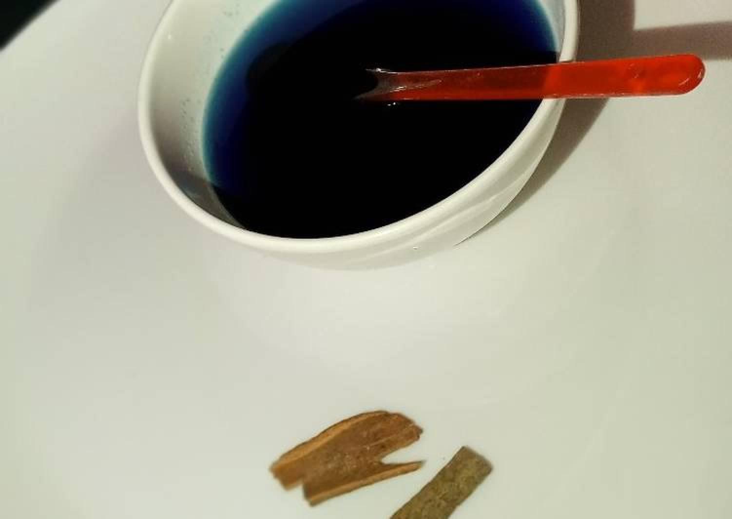 Homemade Blue Curacao syrup