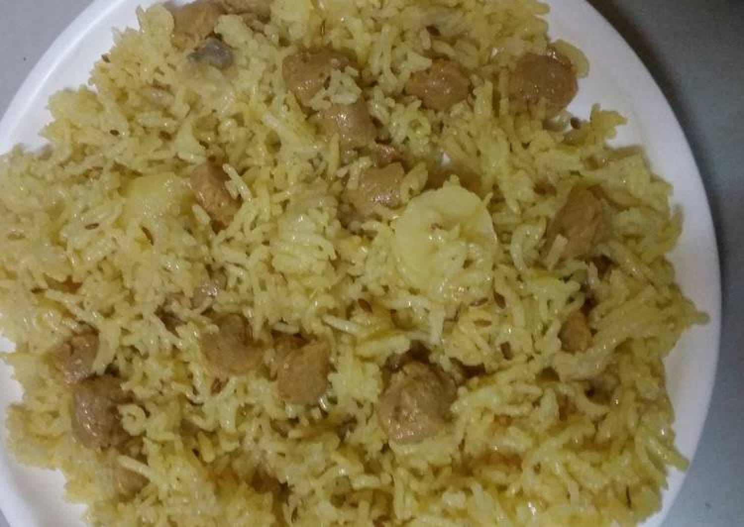 Soyabeen rice