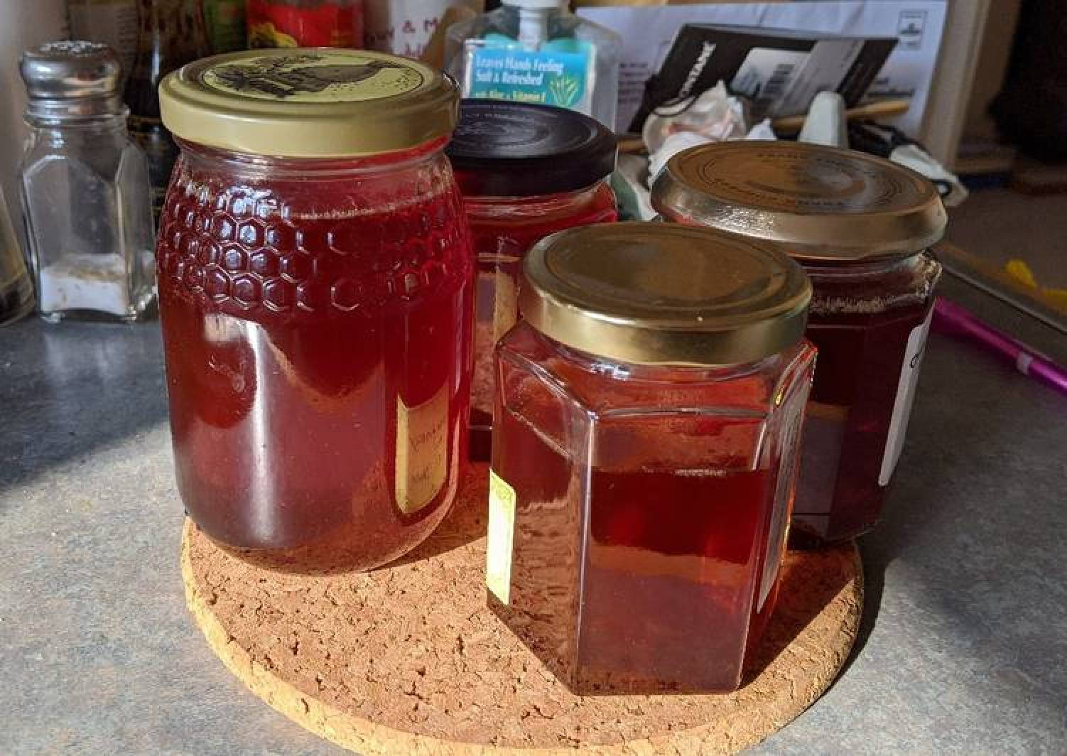Rosehip and Apple Jelly