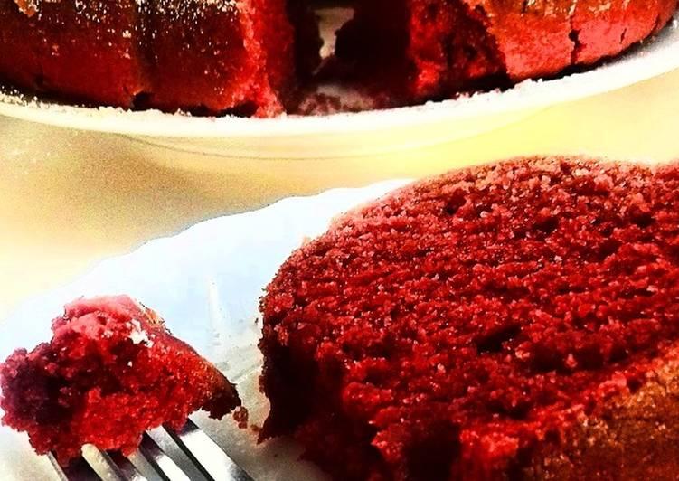 Red Velvet Bundt Cake #eastercontest