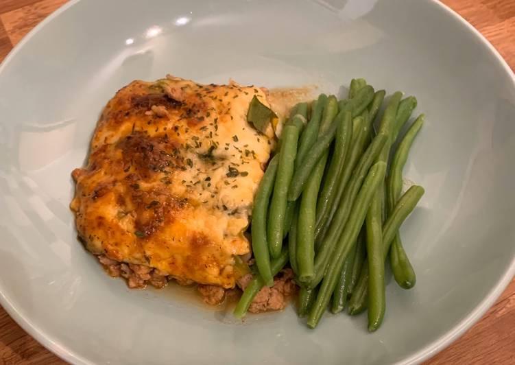 Turkey & Courgette Lasagna (Keto/Low Carb)