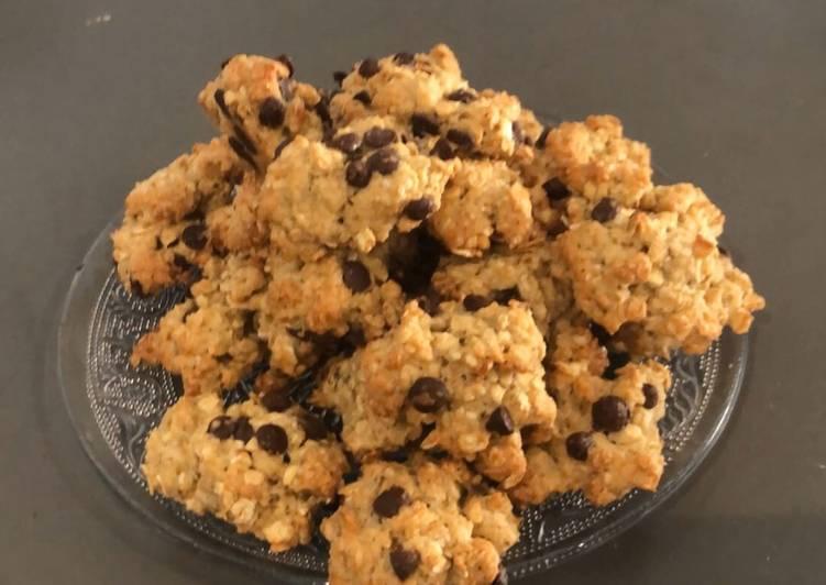 Rocher cookies à l'avoine