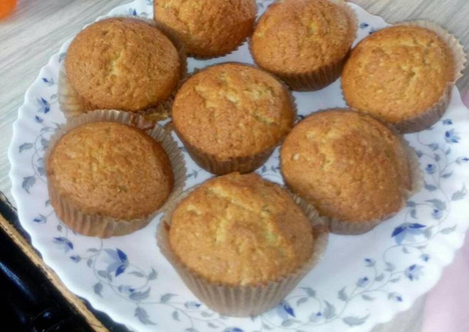 Sultanas/Raisins vanilla cupcakes