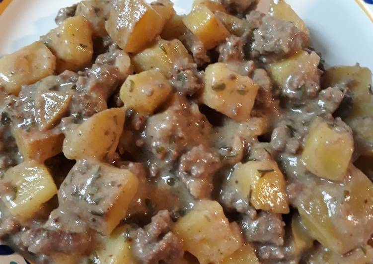 Ground Beef and Potatoes