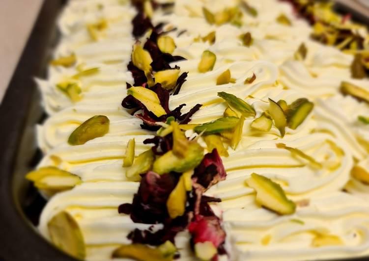 Milk Cake by @HalalCooks
