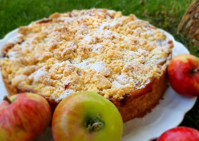 Rezept Um Perfekte Apfel-Pudding-Kuchen zuzubereiten