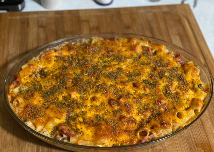 Recipe of Perfect Baked Macaroni & Cheese (Surf & Turf)