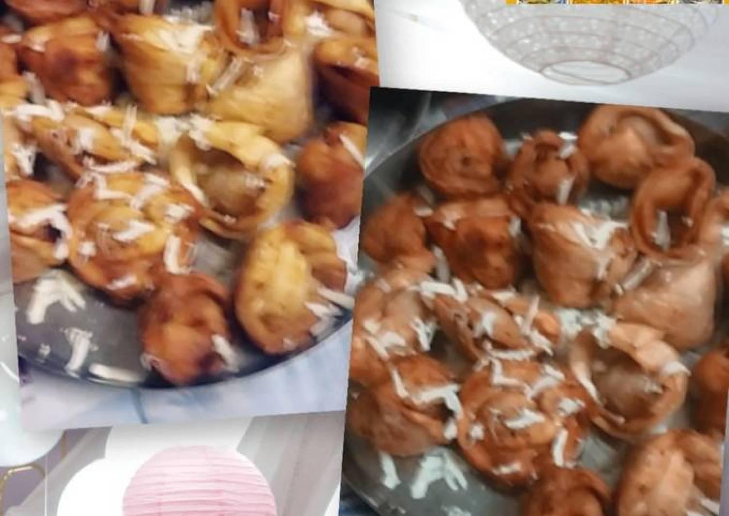 Crispy fried veg momos