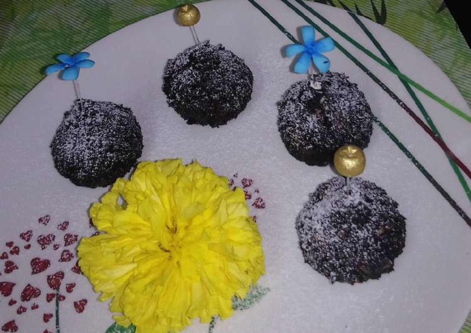 Chocolate truffle modak