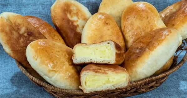 Жареные пирожки с картошкой - 81 пошаговый рецепт с фото ...
