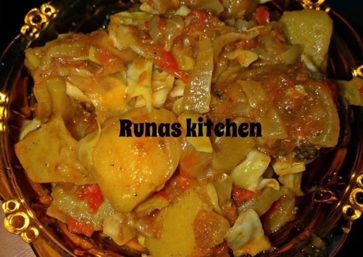 Cabbage soup By RuNas kitchen